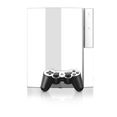 PS3 Skin - Solid State White