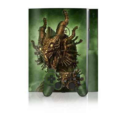 PS3 Skin - Steampunk Dragon