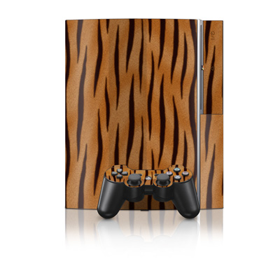 PS3 Skin - Tiger Stripes