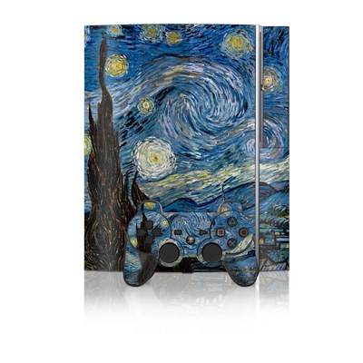 PS3 Skin - Starry Night