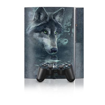PS3 Skin - Wolf Reflection