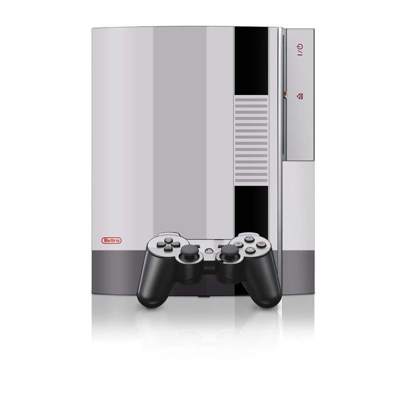 Free Ps3 Console: Sony PS3 Console + Controller Skin