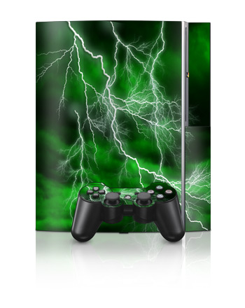 PS3 Skin - Apocalypse Green