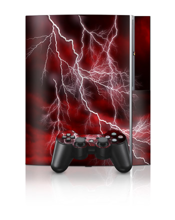 PS3 Skin - Apocalypse Red