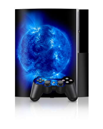 PS3 Skin - Blue Giant