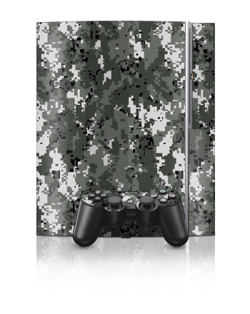 PS3 Skin - Digital Urban Camo
