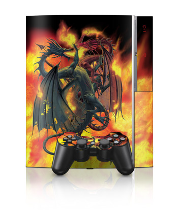 PS3 Skin - Dragon Wars