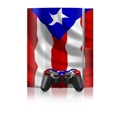 PS3 Skin - Puerto Rican Flag