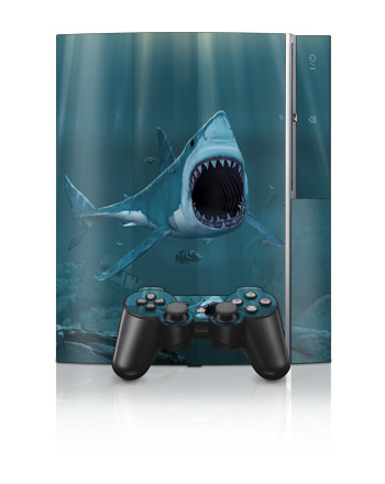 PS3 Skin - Great White