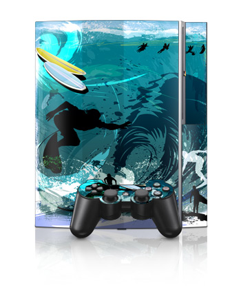 PS3 Skin - Hit The Waves