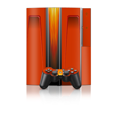 PS3 Skin - Hot Rod