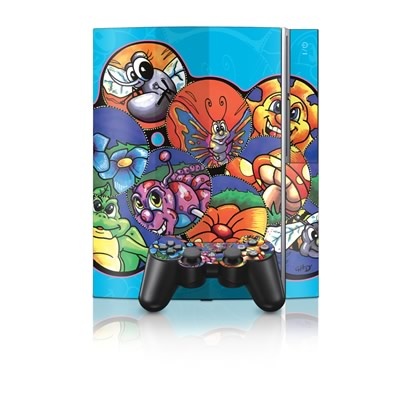 PS3 Skin - Krazy Kritters