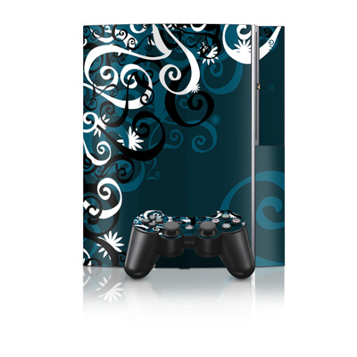 PS3 Skin - Midnight Garden