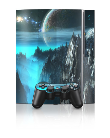 PS3 Skin - Path To The Stars