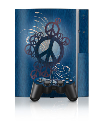 PS3 Skin - Peace Out
