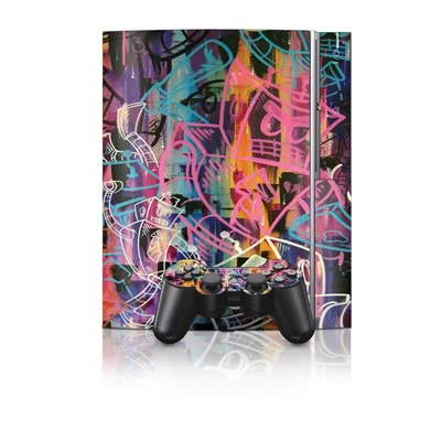 PS3 Skin - Robot Roundup