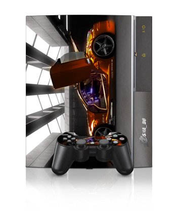 PS3 Skin - Z33 Light