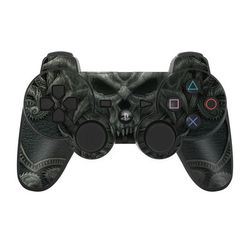 PS3 Controller Skin - Black Book