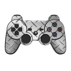 PS3 Controller Skin - Diamond Plate