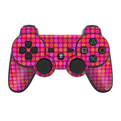 PS3 Controller Skin - Dots Pink