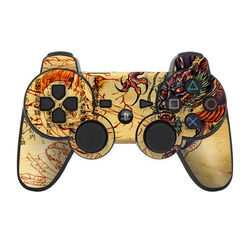 PS3 Controller Skin - Dragon Legend