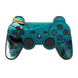 PS3 Controller Skin - Hit The Waves