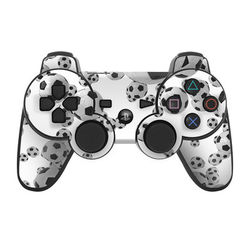 PS3 Controller Skin - Lots of Soccer Balls