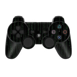 PS3 Controller Skin - Matrix Style Code