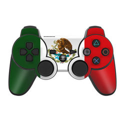 PS3 Controller Skin - Mexican Flag