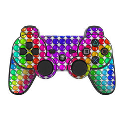 PS3 Controller Skin - Rainbow Candy