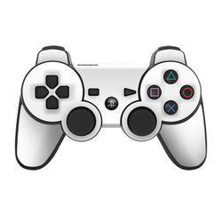 PS3 Controller Skin - Solid State White