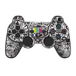 PS3 Controller Skin - TV Kills Everything