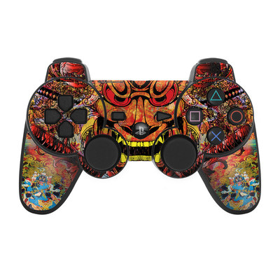 PS3 Controller Skin - Asian Crest