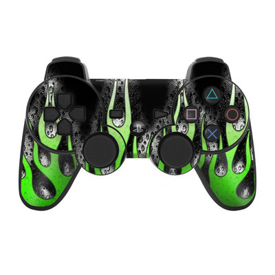 PS3 Controller Skin - Acid Flames