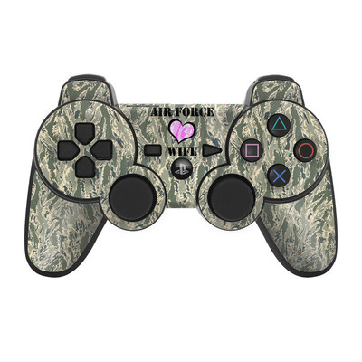 PS3 Controller Skin - Air Force Wife