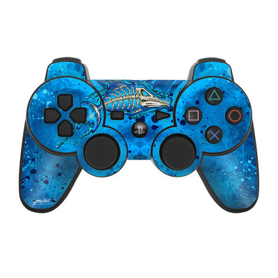 PS3 Controller Skin - Barracuda Bones