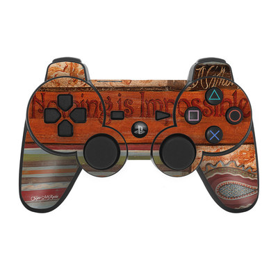 PS3 Controller Skin - Be Inspired