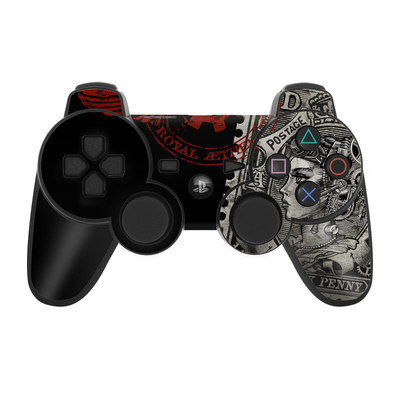PS3 Controller Skin - Black Penny