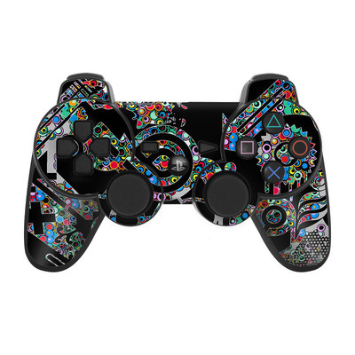 PS3 Controller Skin - Circle Madness