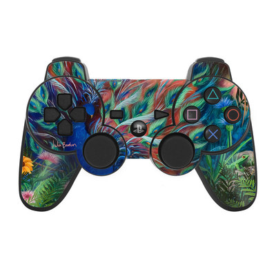 PS3 Controller Skin - Coral Peacock