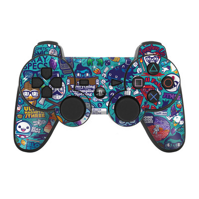PS3 Controller Skin - Cosmic Ray