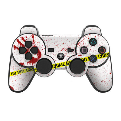 PS3 Controller Skin - Crime Scene Revisited