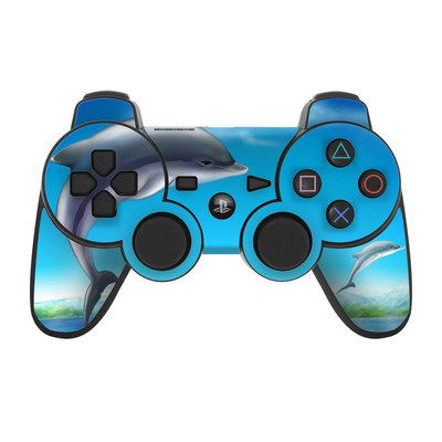 PS3 Controller Skin - Dolphins
