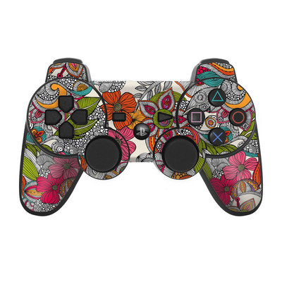 PS3 Controller Skin - Doodles Color