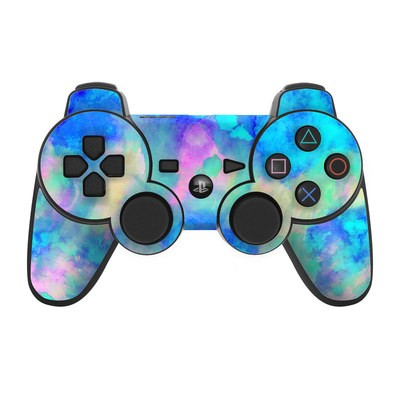 PS3 Controller Skin - Electrify Ice Blue