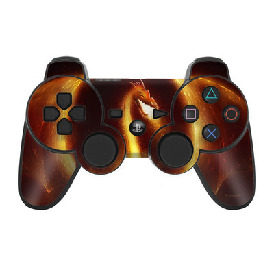 PS3 Controller Skin - Fire Dragon