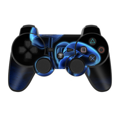PS3 Controller Skin - Fluorescence Blue