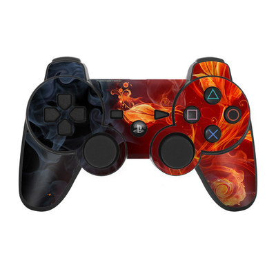 PS3 Controller Skin - Flower Of Fire