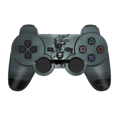 PS3 Controller Skin - Flying Tree Black