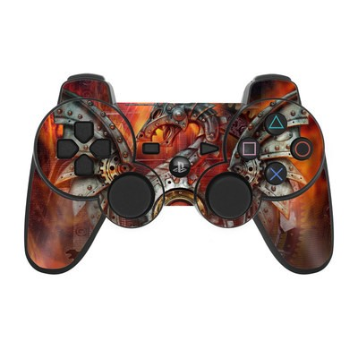 PS3 Controller Skin - Furnace Dragon